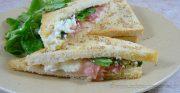 Club sandwich au Rocamadour
