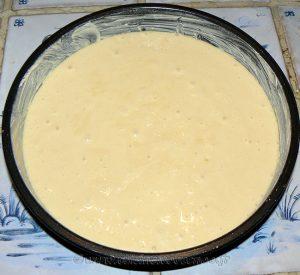 Gâteau au yaourt en verrine façon layer cake etape3