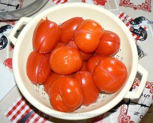 Spaghettis, sauce tomates fraiches provençale etape1