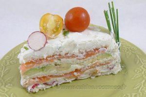 Sandwich cake au fromage blanc frais de Corrèze slider