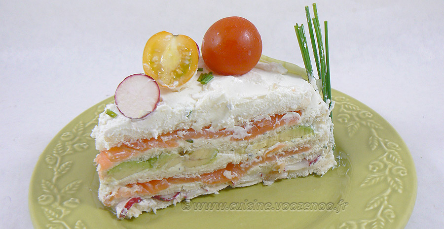 Sandwich cake au fromage blanc frais de Corrèze slider