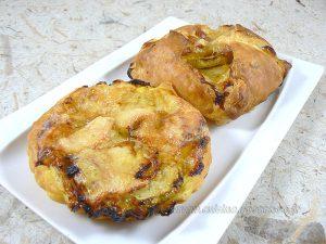 Paniers-Tartelettes feuilletés aux courgettes presentation