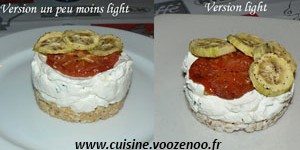 Cheesecake salé, légumes et basilic light (ou pas)