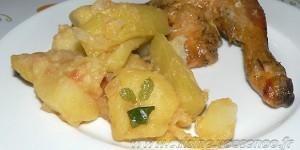 """Courgettes longues et pommes de terre, La """"Cucuzza"""" sicilienne"""